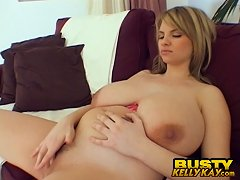 BustyKellyKay.com - A Tight Top For Titanic Tits - Kelly Kay