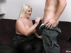 BBWPickup.com - A guy tries a wrong door and does Sindy